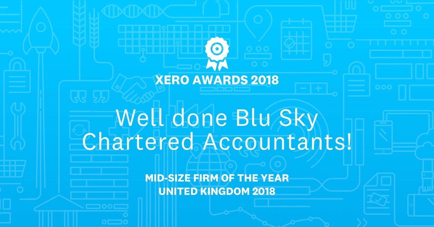 Blu Sky Celebrates National Success at the Xero Awards
