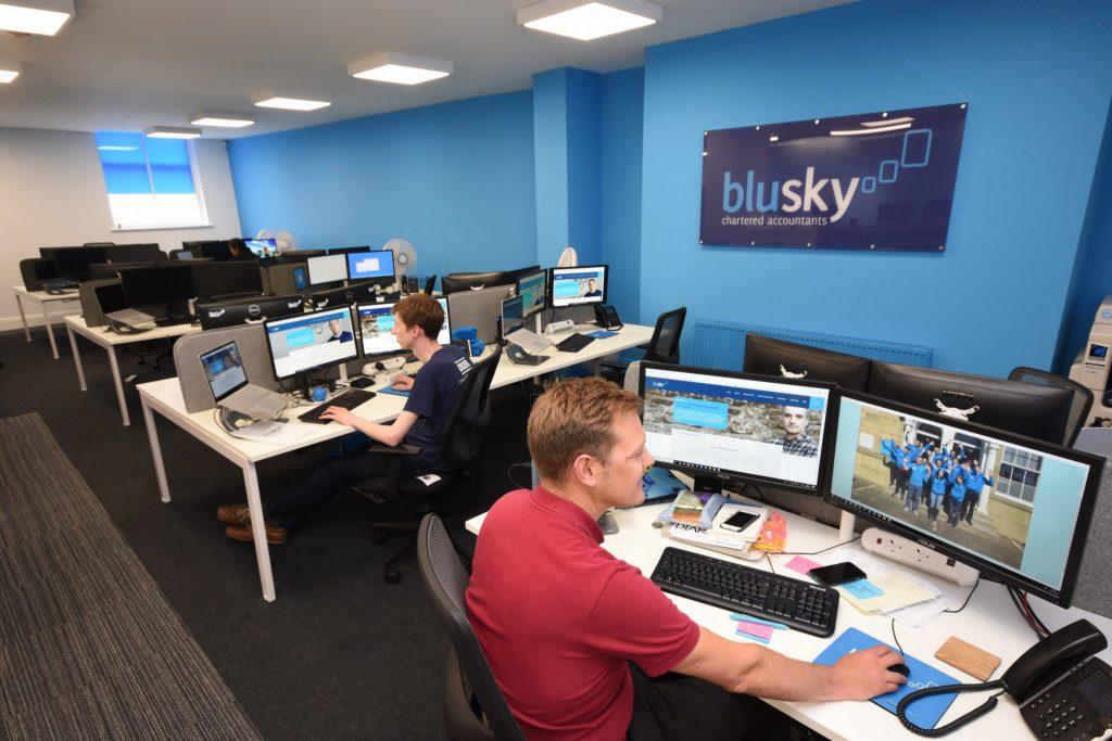 Blu Sky team